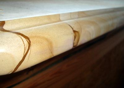 Подоконник из мрамора Teak Wood